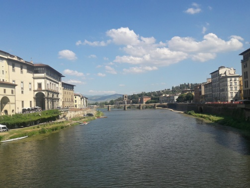 The beautiful Ponte Vecchio