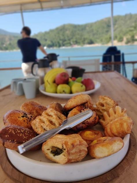 Snacks on a Boat Trip