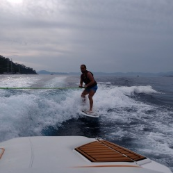 Chris Wake Boarding